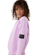 Heads Up Crew Neck Sweatshirt Orchid Bloom, Purple, large