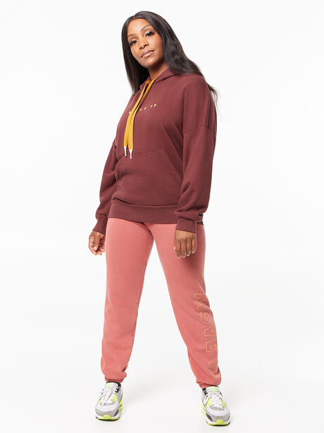 The Whip It Hoodie Brown Stone, Maroon, large image number 3