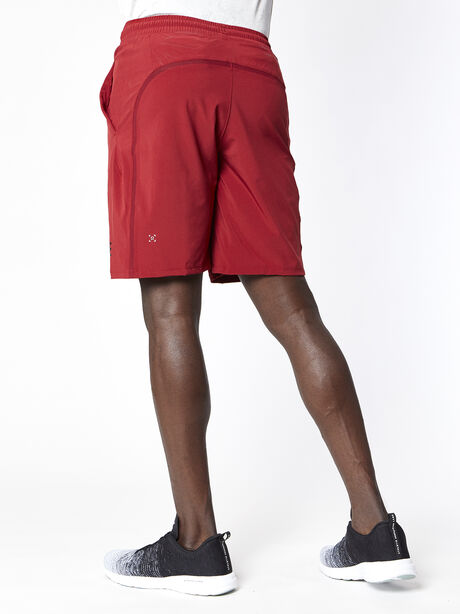 "Pace Breaker 9"" Lined Short, Caliente, large image number 2"