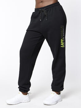 Sports Track Bottoms, Black, large