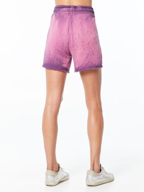 Oversized Brooklyn Sweatshort Lavender Mix, Purple, large image number 3