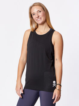 Swiftly Breeze Tank, Black/Black, large