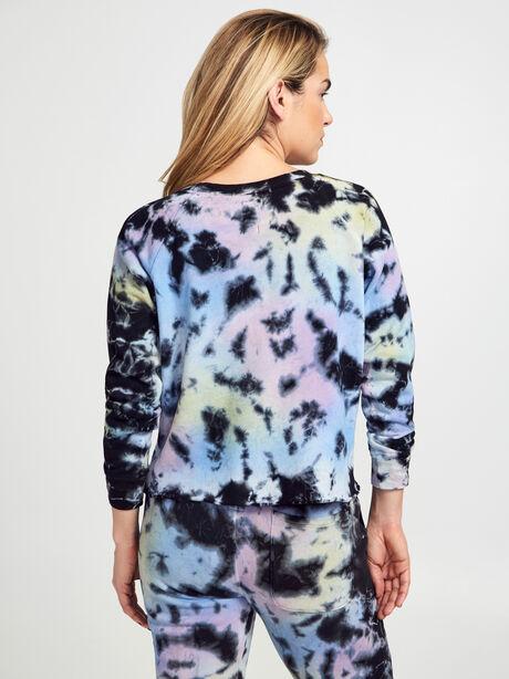 Carolina Tie-Dye Crewneck Sweatshirt, Tie Dye, large image number 2