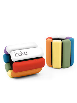 1 Lb Bala Bangles Rainbow, Multi, large