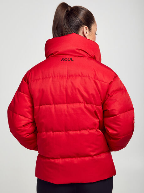 Puffer Jacket, Red, large image number 2