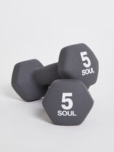 5 lb Weight Set, Grey, large
