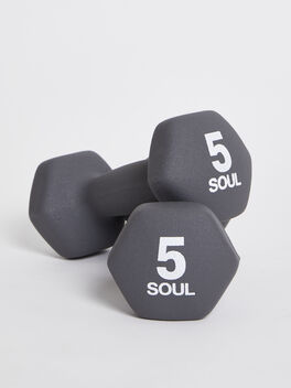 5 lb Weight Set, Grey, large