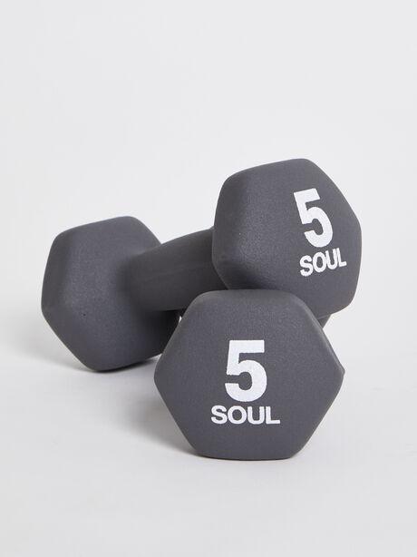 5 lb Weight Set, Grey, large image number 0