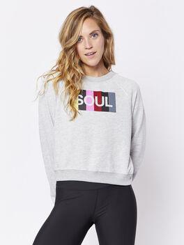 Heather Grey London Sweatshirt, Heather Grey, large
