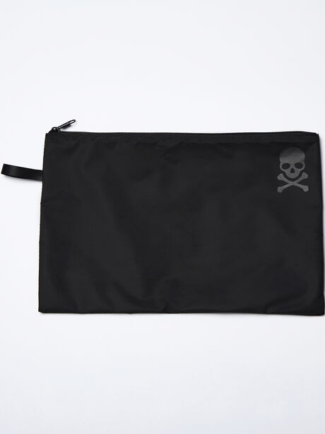 Reusable Sweat Bag, Black, large image number 0