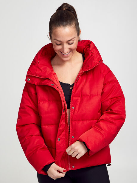Puffer Jacket, Red, large image number 1