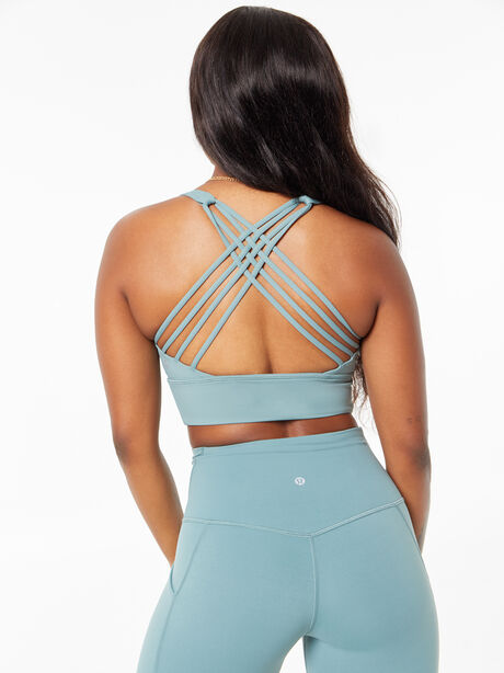 Free To Be Wild Long Line Bra Tidewater Teal, , large image number 3