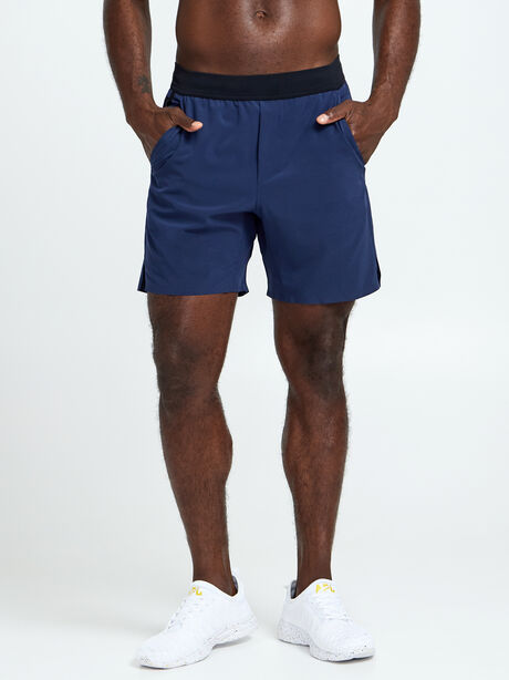 "7"" Interval Short, Navy, large image number 0"