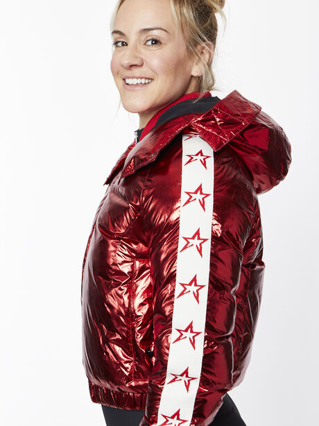 Star Jacket, Red/White, large image number 1