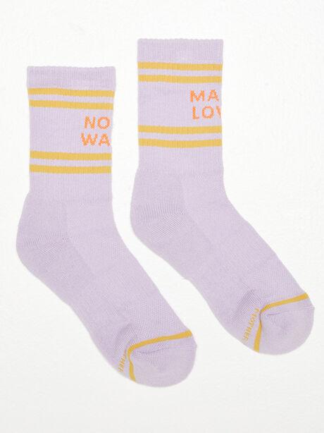 Baby Steps Mid Calf Socks Purple, Purple, large image number 0