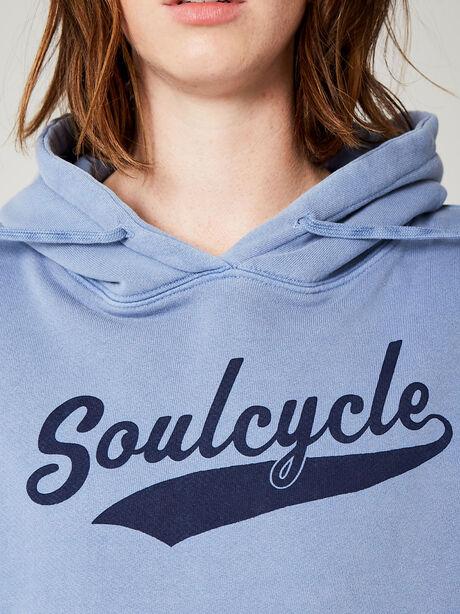 Novelty Wash Sweatshirt, Blue, large image number 1