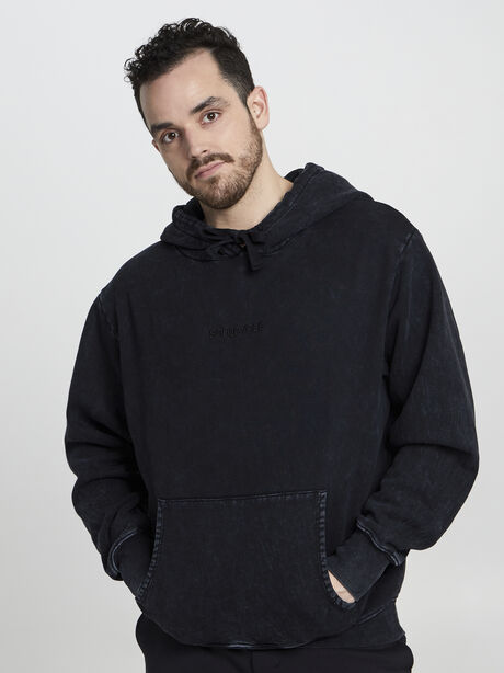 Kingsley Tonal Hoodie, Black, large image number 2