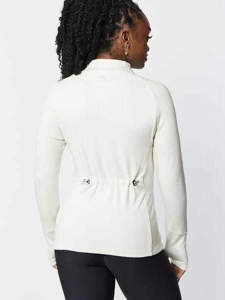 Formosa Half Zip White, Bone, large image number 2