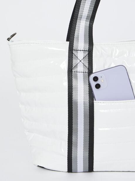 Junior Wingman Bag-White Patent, , large image number 2