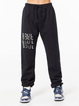 Charlie Sweatpant Black, Black, large