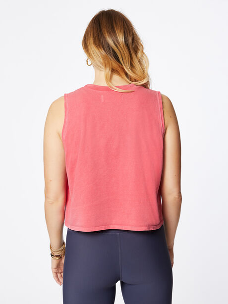 Dylan Cropped Tank Love Potion Pink, Red, large image number 2