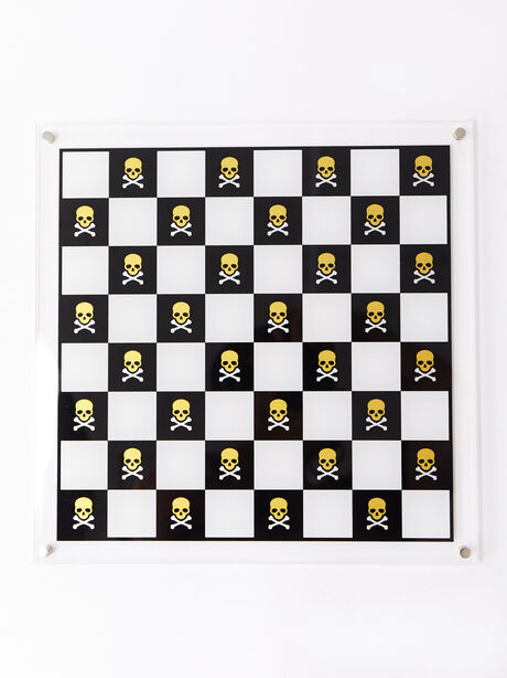 Exclusive Chess Set, White/Yellow, large image number 3
