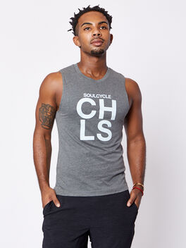 Kings Road Tank, Grey, large