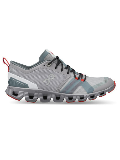 Cloud X Shift Men's Alloy/Red, Neon Blue/Grey, large image number 0