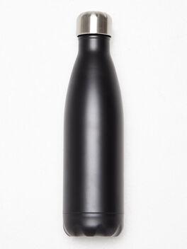 SoulAF® Water Bottle Black 17oz, Black, large