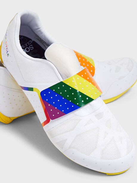 Pride Legend Cycling Shoe, White, large image number 0