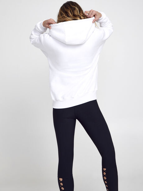 Kingsley Skull Hoodie, White, large image number 4