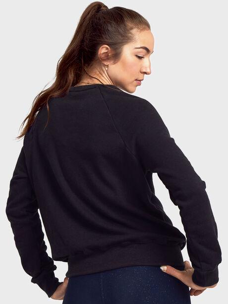 Choose Soul Old School Pullover, Black, large image number 2