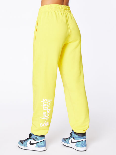 Exclusive Loose Fit Jogger Yellow, Yellow, large image number 2