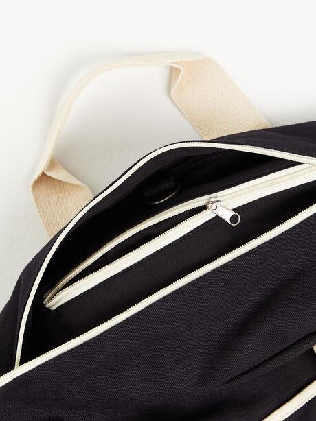 Texas Duffle Bag Black, Black, large image number 3