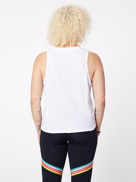 Tina Tank White, White, large image number 2