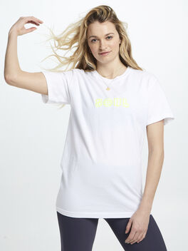 Soul Paradised T Shirt White, White, large
