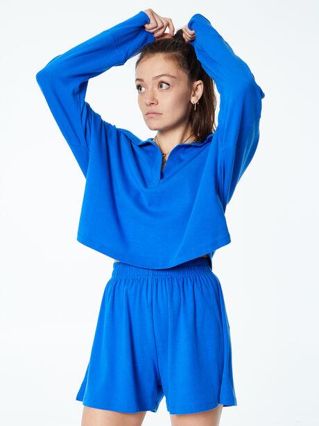 Summer Rugby Shirt Blue, Blue, large image number 1