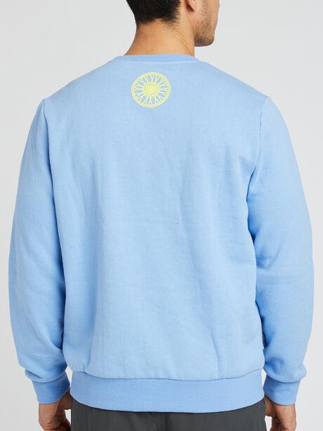 Orlando Crewneck Sweatshirt, Blue, large image number 1