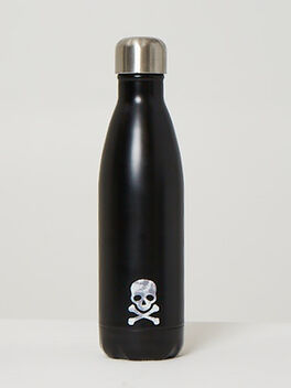Tie-Dye Skull Water Bottle, Chimney, large