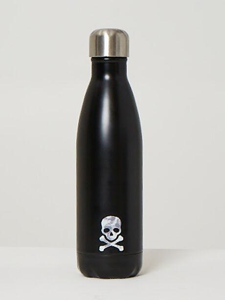 Tie-Dye Skull Water Bottle, Chimney, large image number 0