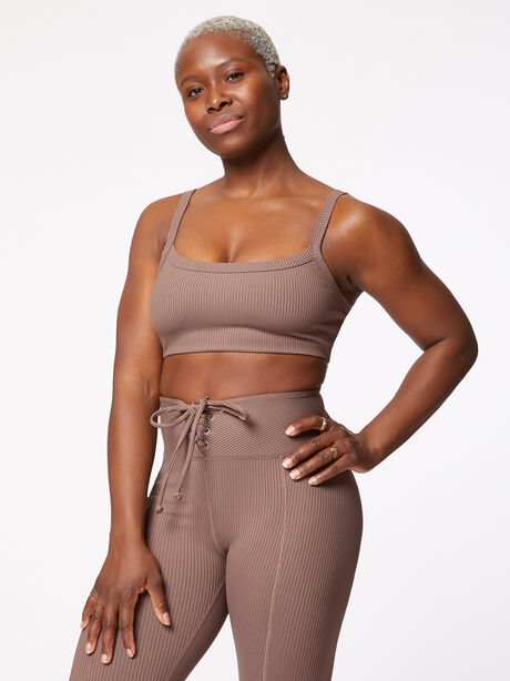 Ribbed Bralette 2.0 Coco, , large image number 0