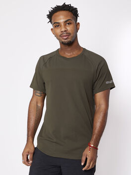 Peak Potential Short Sleeve, Dark Olive, large