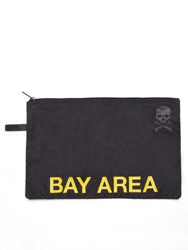 Bay Area Reusable Sweat Bag, Black, large