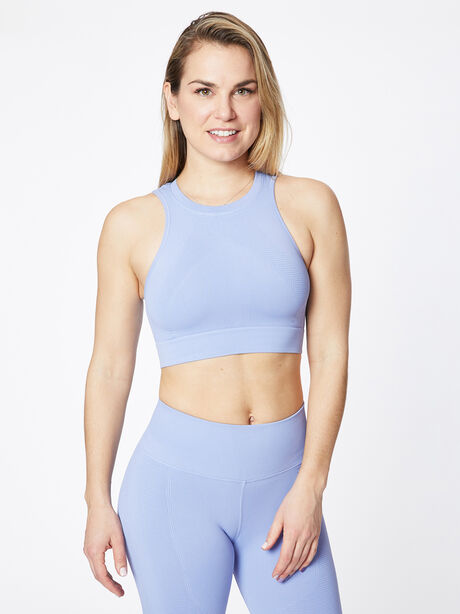 One By One Seamless Bra Periwinkle, Periwinkle, large image number 0