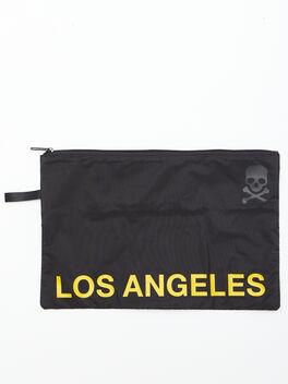 Los Angeles Reusable Sweat Bag, Black, large