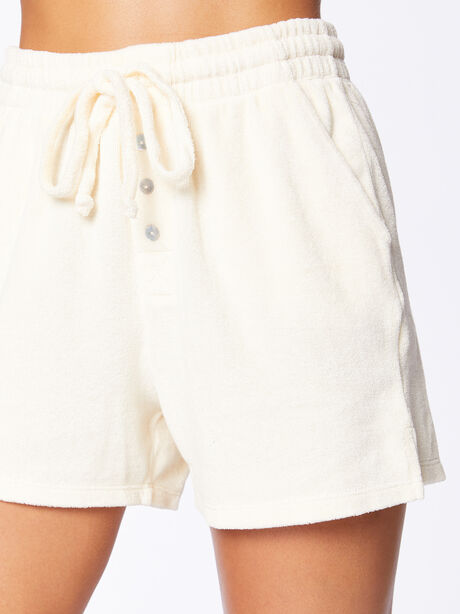 Terry Henley Short Cream, Off White, large image number 2
