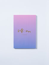Self-Care Notepad, Pink, large