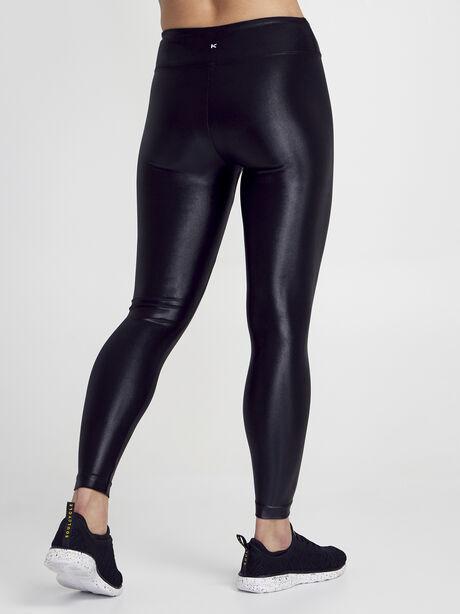 Lustrous High Rise Legging, Black, large image number 3