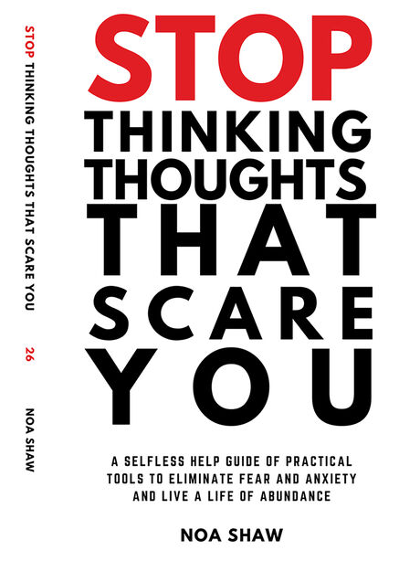 Stop Thinking Thoughts That Scare You, Black, large image number 0