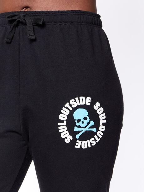 SoulOutside Studio Sweatpant Black, Black, large image number 1